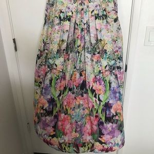 Anthropologie Ranna Gill Firefleur Maxi Skirt